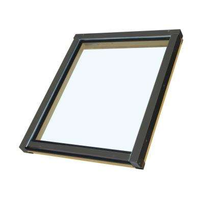 FX106T - 14-1/2 in x 45-1/2 in. Fixed Deck Mount Skylight with Tempered LowE Glass