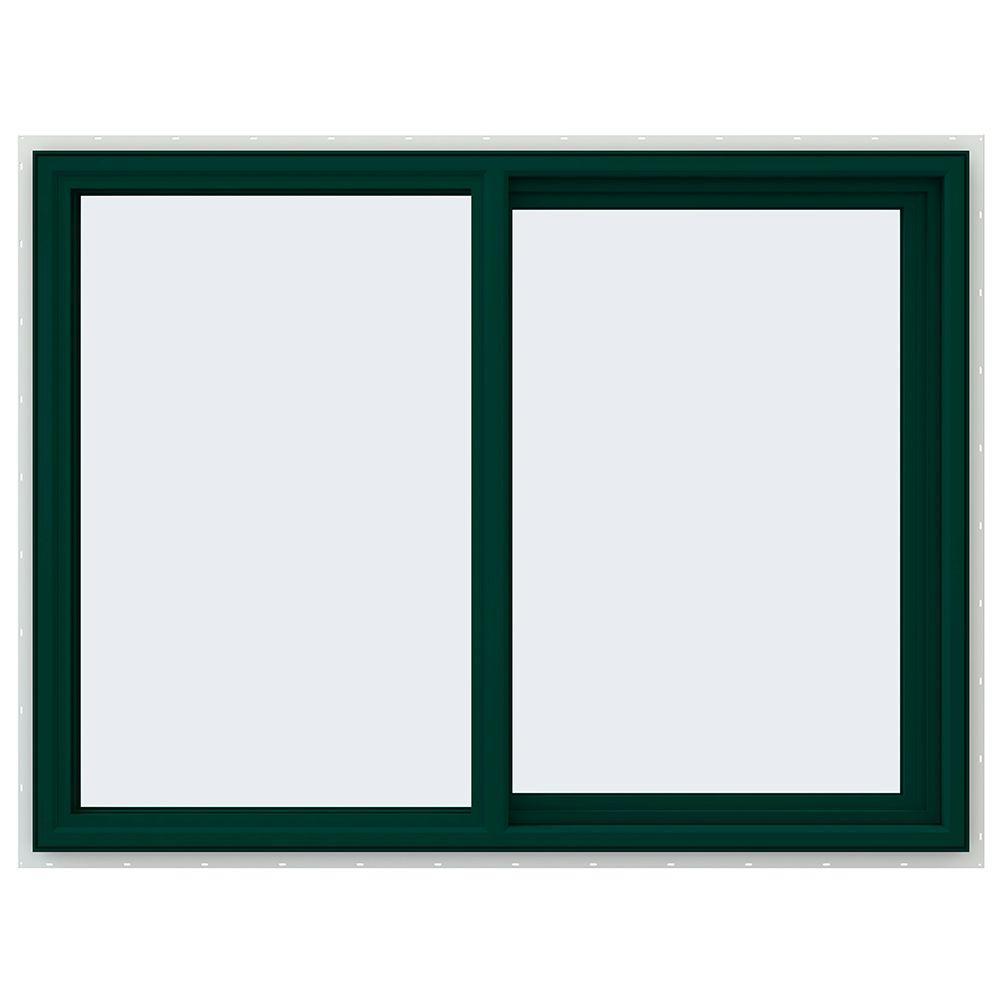 47.5 in. x 35.5 in. V-4500 Series Right-Hand Sliding Vinyl Window