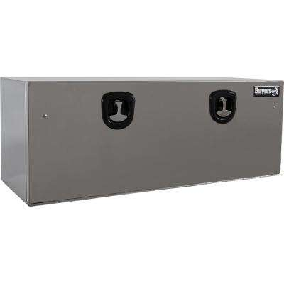 Stainless Steel Underbody Truck Box with Polished Stainless Steel Door (Highly Polished), 18 in. x 18 in. x 48 in.