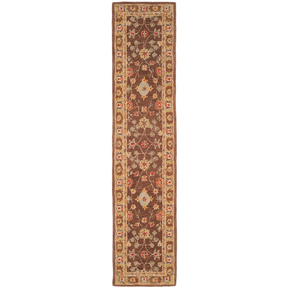 Anatolia Brown/Gold 2 ft. 3 in. x 8 ft. Runner