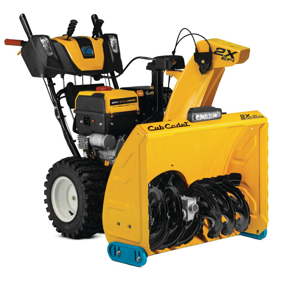Cub Cadet 30 in. 357cc 2X Fuel Injected (EFI) Two-Stage Electric Start Gas Snow Blower with IntelliPower Tech and Heated Grips