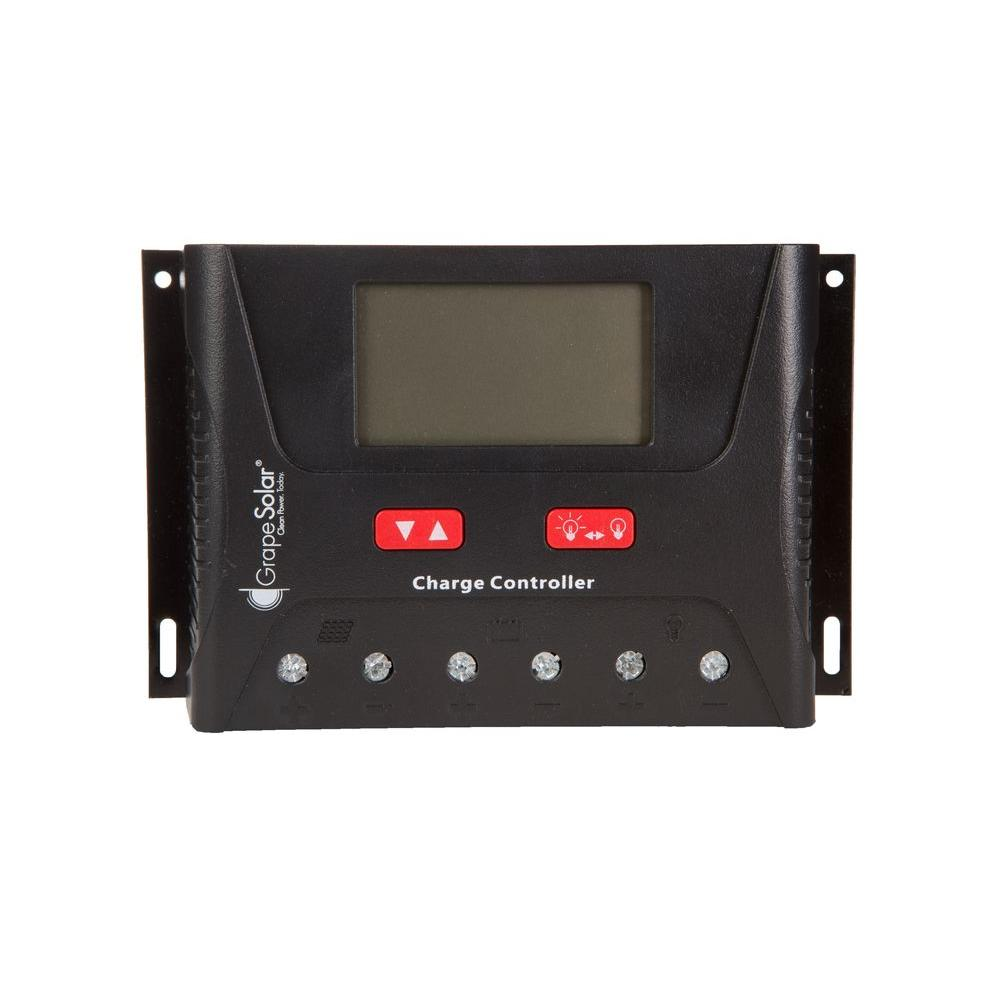 Grape Solar 40 Amp PWM Solar Charge Controller with Bluetooth