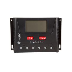 Grape Solar 40 Amp PWM Solar Charge Controller with Bluetooth by Grape Solar