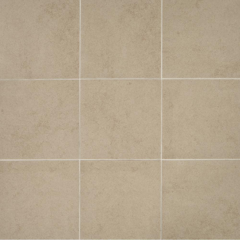 Trafficmaster Manvel Ash 12 In X 12 In Ceramic Floor And