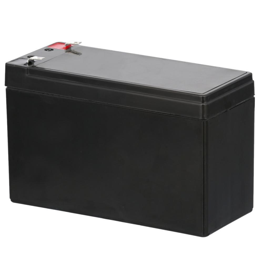 12-Volt 7 Ah F1 Terminal Sealed Lead Acid (SLA) AGM Rechargeable Battery