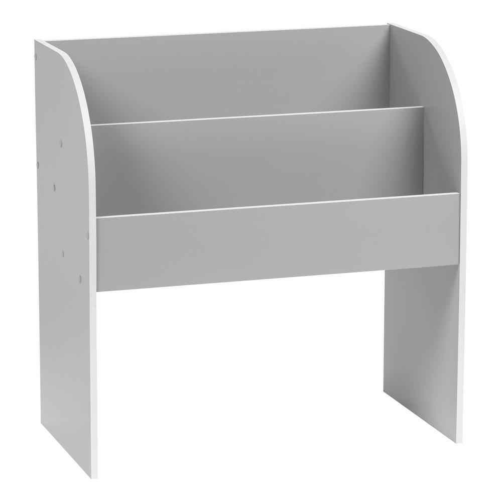 IRIS Kids Gray Wooden Bookshelf
