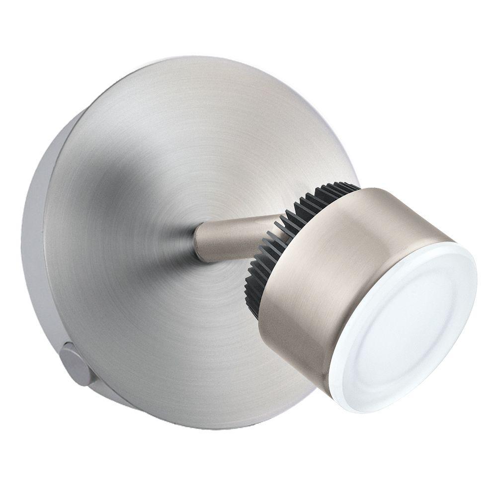 Armento 1 LED 1-Light Satin Nickel Track Lighting Kit