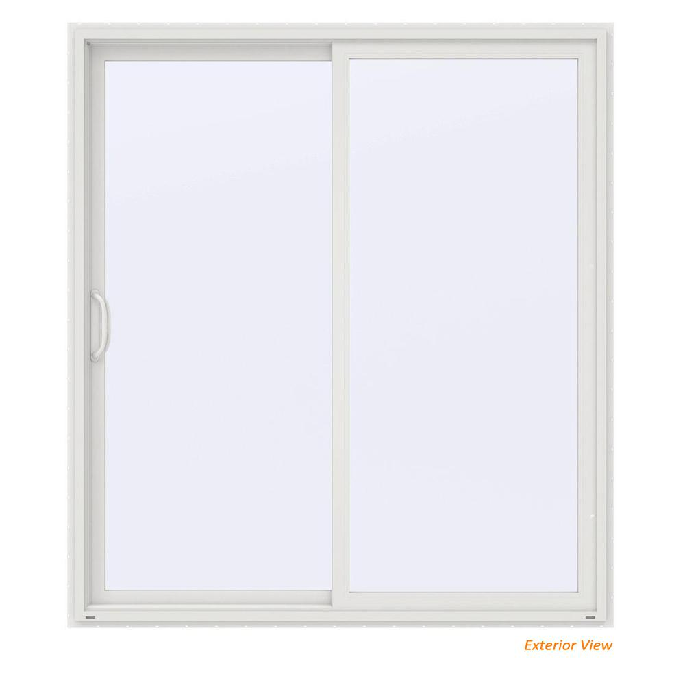 This Review Is From:72 In. X 80 In. V 4500 Contemporary White Vinyl  Left Hand Full Lite Sliding Patio Door