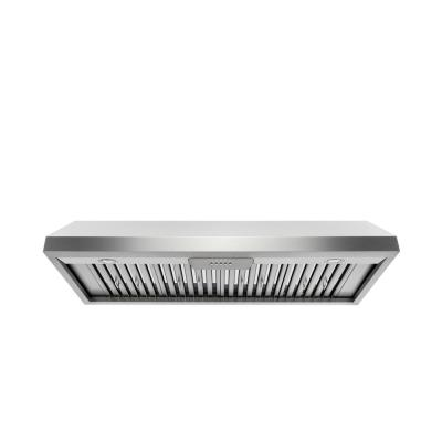 48 in. 800 CFM Under Cabinet Stainless Steel Range Hood with Stainless Steel Baffles