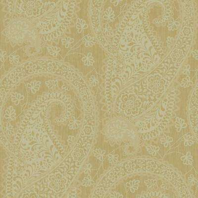 Pre-pasted - Paisley - Wallpaper - Decor - The Home Depot