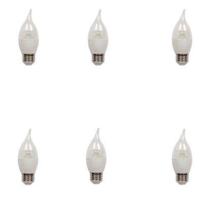 60W Equivalent Soft White CA13 Dimmable LED Light Bulb (6-Pack)
