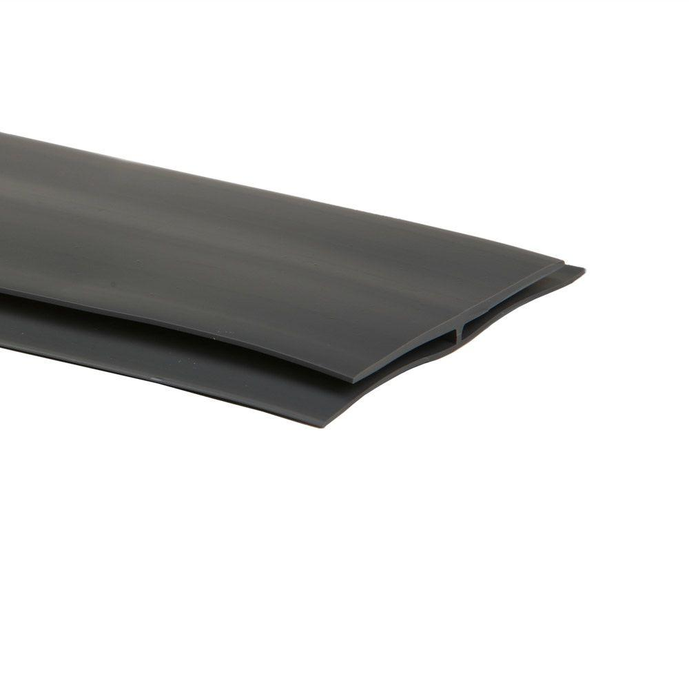 G-Floor 25 ft. Length Slate Grey Mat Center Trim