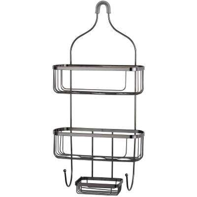 Large Black Shower Caddy