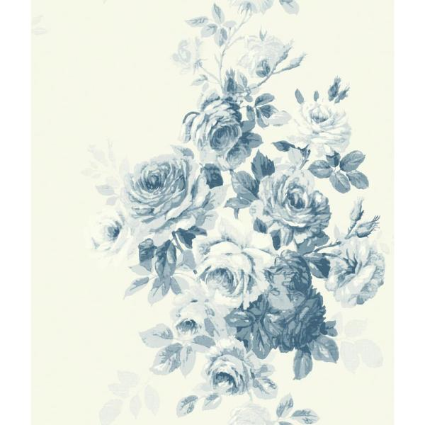 Tea Rose Paper Strippable Wallpaper (Covers 56 sq. ft.)