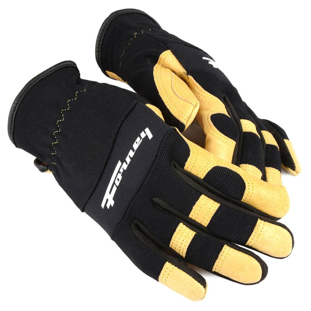 Premium Stretch Pigskin Leather Driver's Gloves (Women's S)