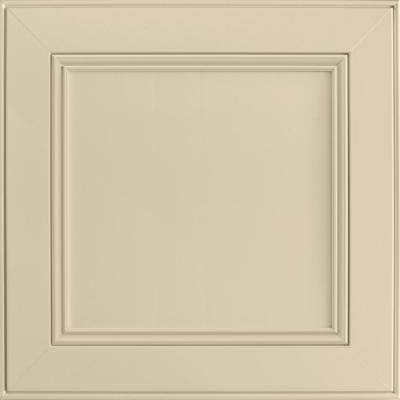 14-9/16 x 14-1/2 in. Cabinet Door Sample in MacArthur Painted Cashmere