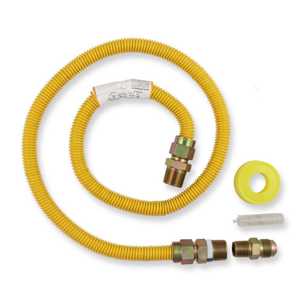 Everbilt Everbilt 4 ft. Gas Range Connector Kit