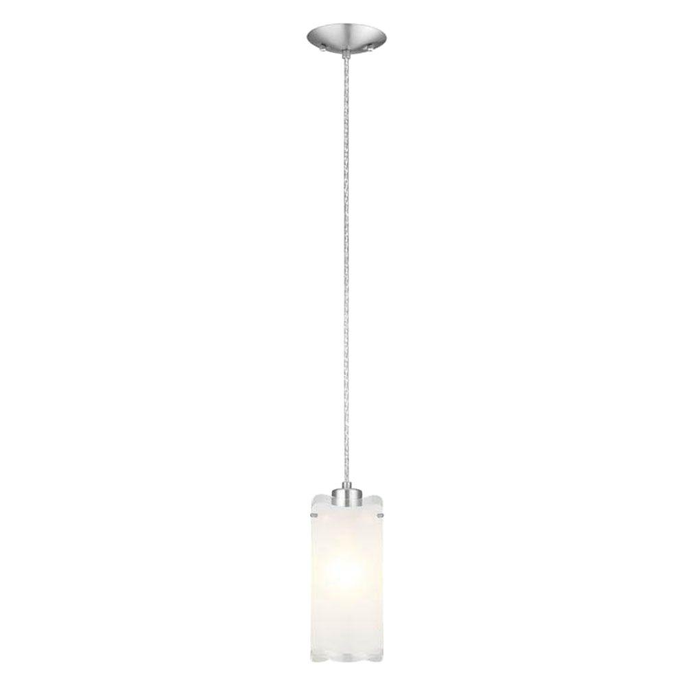 Felice 1-Light Matte Nickel Pendant