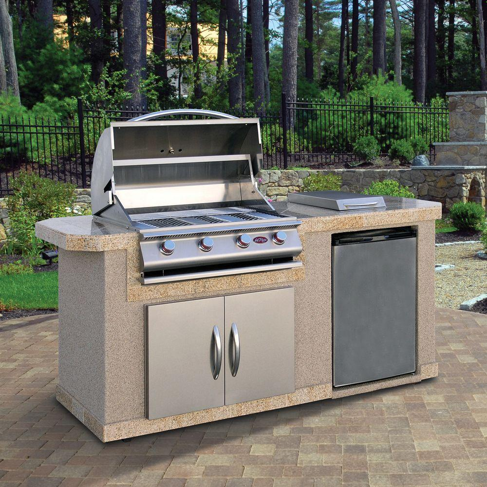 DIY Outdoor Kitchens - The Home Depot