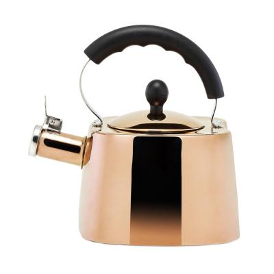 DuraCopper 7.61-Cup Stovetop Tea Kettle in Copper