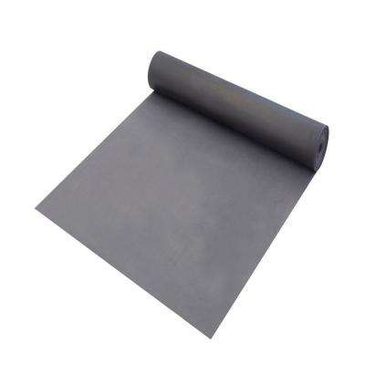 HD PVC100 sq. ft. / roll, 1.5mm Thickness + 0.15mm PE Film Gray Underlayment for LVT, SPC, Laminate, Floated Flooring