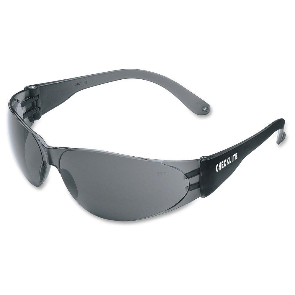 05e31d3ca649 MCR Safety Checklite Gray Lens Safety Glasses-MCSCRWCL112 - The Home ...