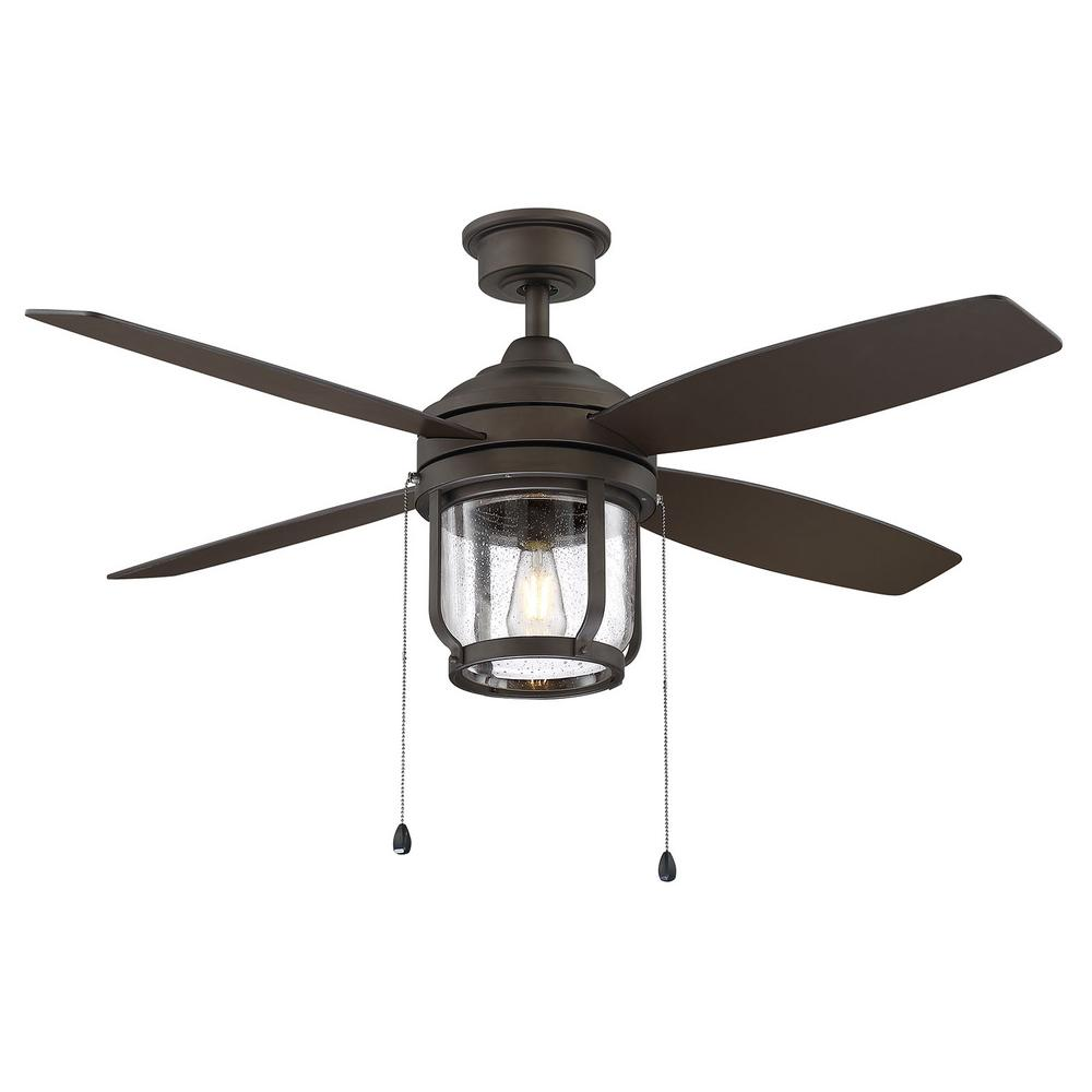 Home Decorators Collection Northampton 52 In Led Indoor Outdoor Espresso Bronze Ceiling Fan