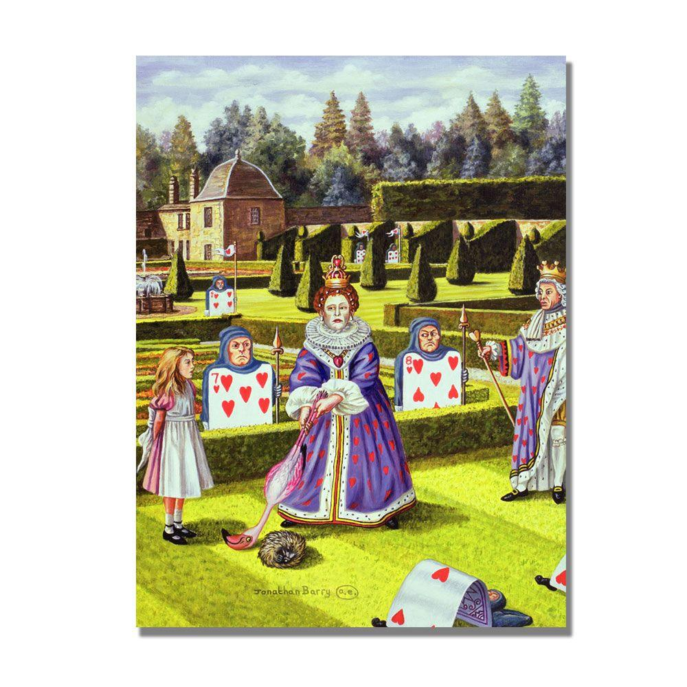 Trademark Fine Art 24 in. x 32 in. The Queen of Hearts, 1999 Canvas Art-DISCONTINUED