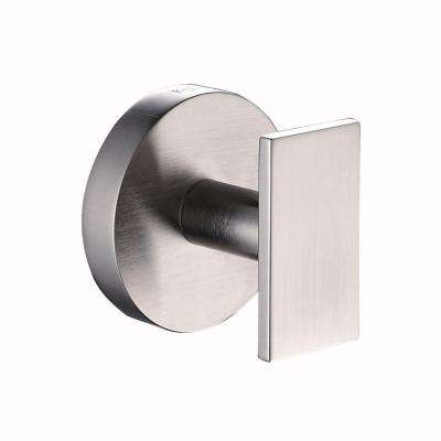 Imperium Bathroom Robe Hook in Brushed Nickel