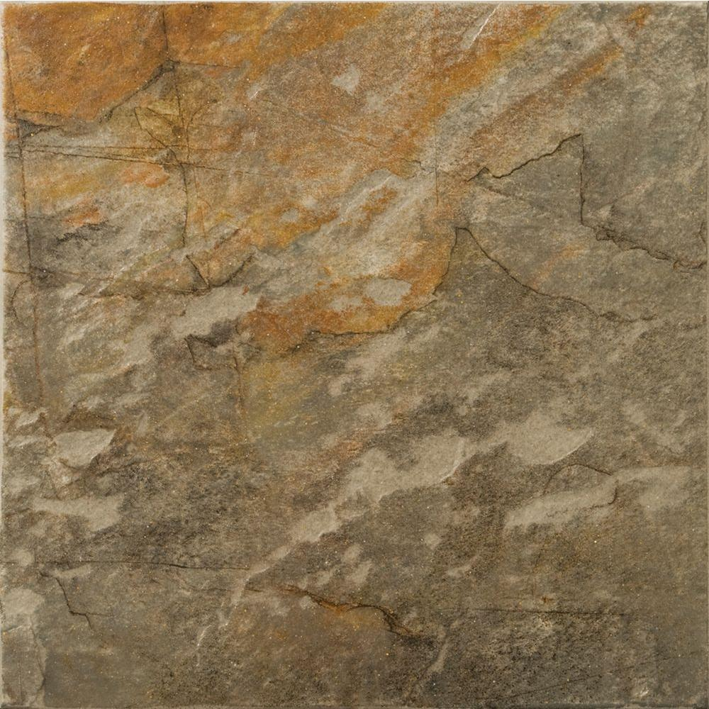 Emser Bombay 7 in. x 7 in. Salsette Porcelain Floor and Wall Tile (5.8 sq .ft./case)