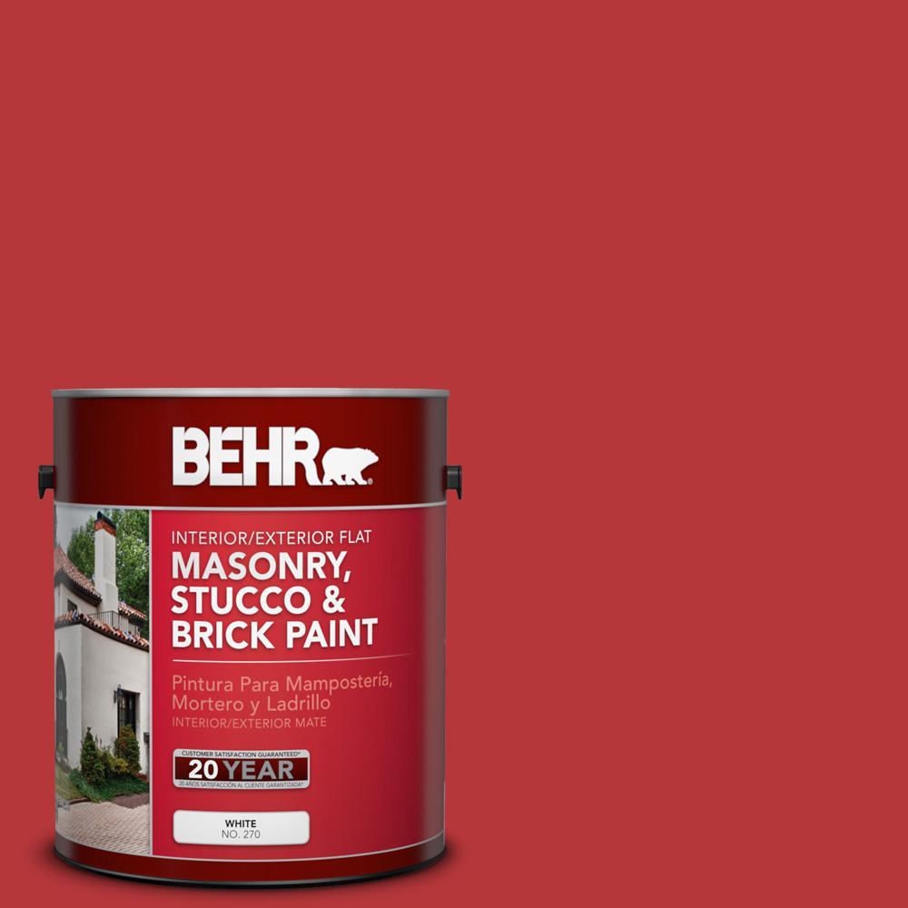 1 gal. #P160-7 Stiletto Love Flat Interior/Exterior Masonry, Stucco and Brick Paint