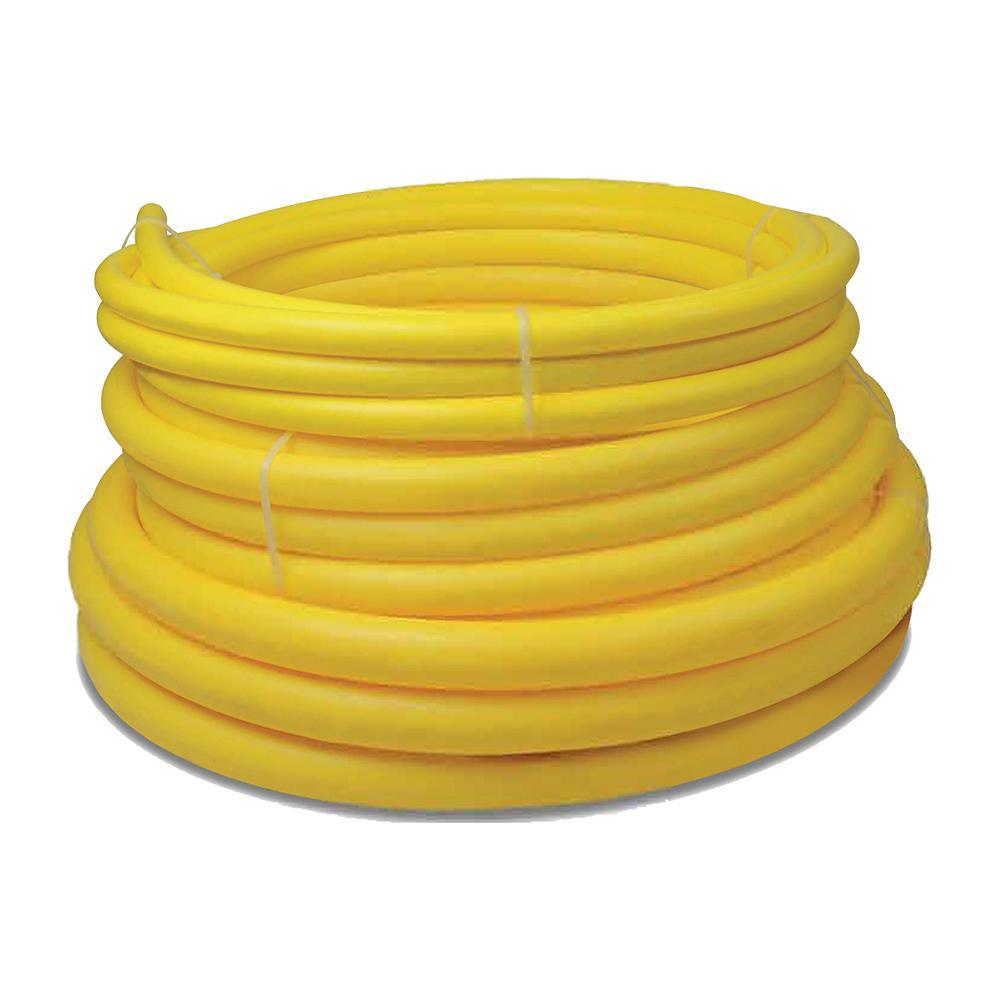 HOME-FLEX 1-1/4 in  IPS x 100 ft  DR 11 Underground Yellow Polyethylene Gas  Pipe