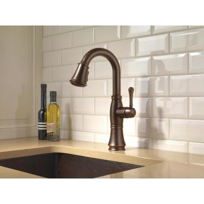 Cassidy Single-Handle Pull-Down Sprayer Bar Faucet in Venetian Bronze
