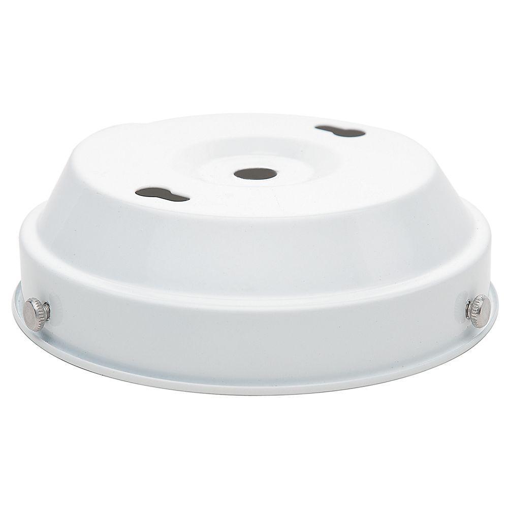 White Globe Ceiling Fan Light Kit
