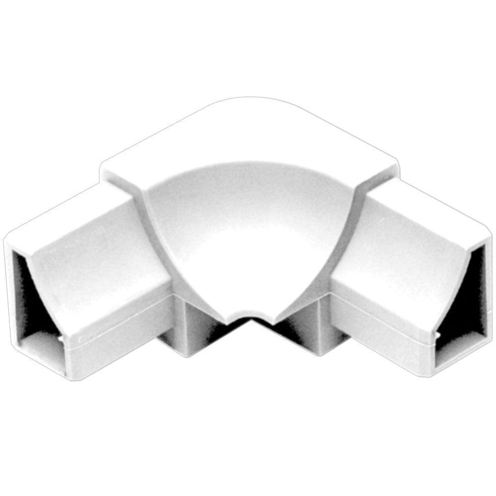 1 2 Quot Pvc Corner : Schluter dilex hk bright white in pvc way