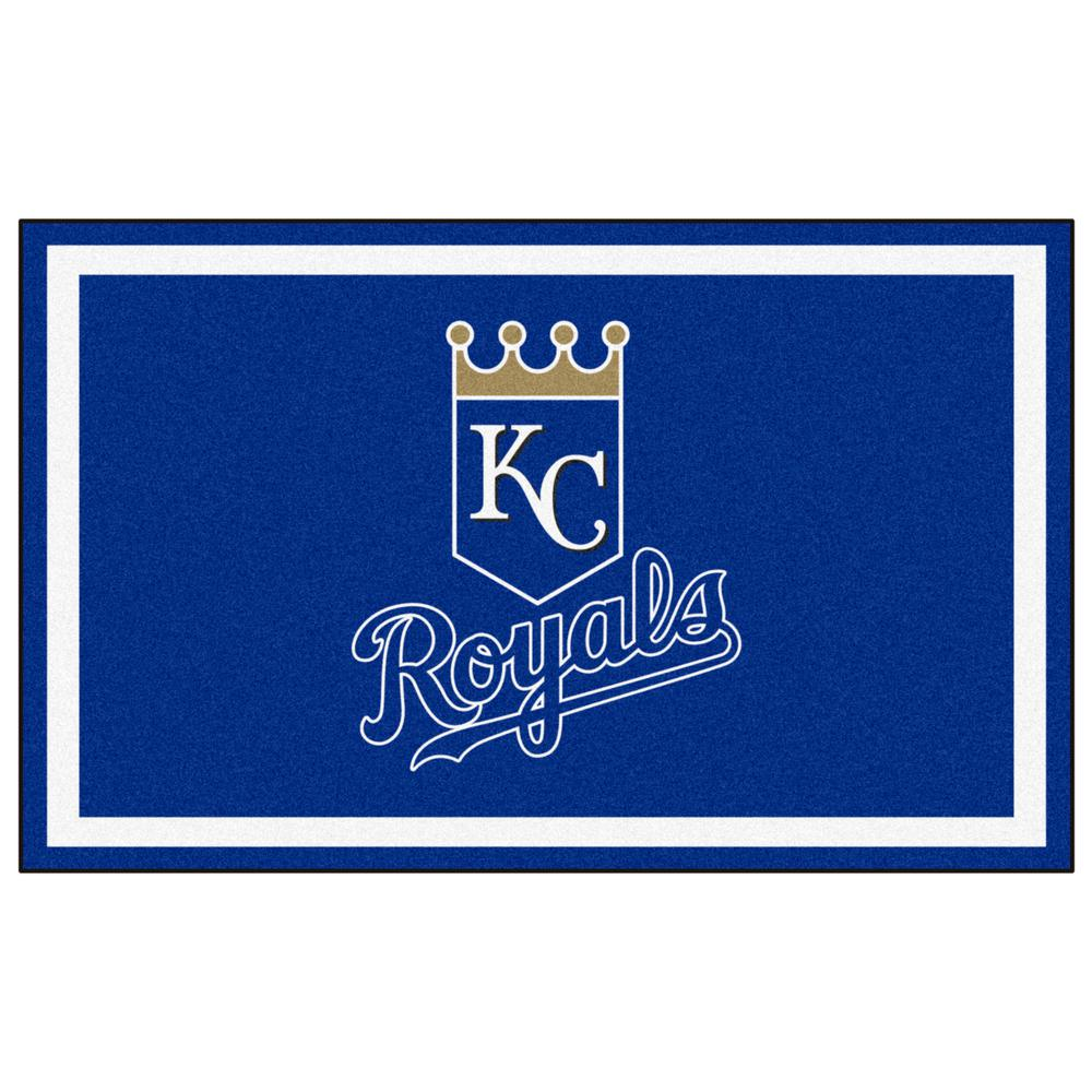 Kansas City Royals 4 ft. x 6 ft. Area Rug