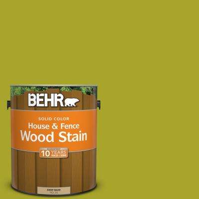 1 gal. #P340-7 Venom Solid Color House and Fence Exterior Wood Stain