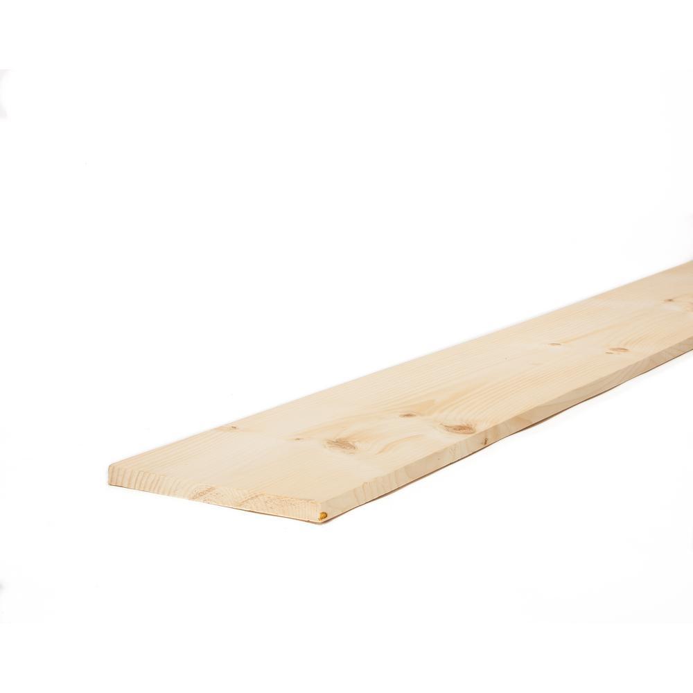 1 in. x 10 in. x 8 ft. Premium Kiln-Dried Square Edge Whitewood Common Board