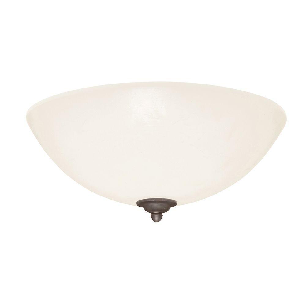 Illumine Zephyr 3-Light Distressed Bronze Ceiling Fan Light Kit