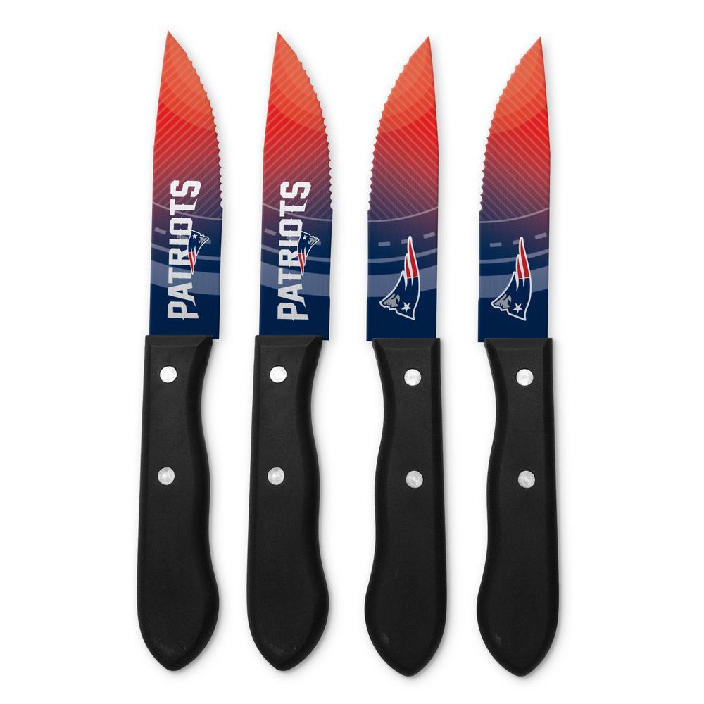 NFL New England Patriots Steak Knives (4-Pack)
