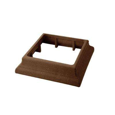 Vantage 5-1/2 in. x 5-1/2 in. Walnut Composite Beveled Post Trim Collar