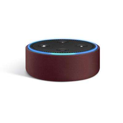 Echo Dot Leather Case, Red