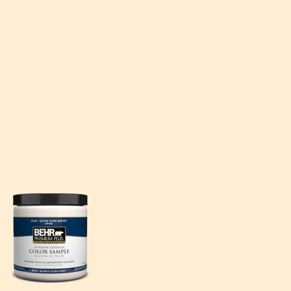 8 oz. #PPH-01 Amarillo Bebito Interior/Exterior Paint Sample