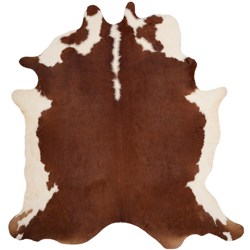 Safavieh Cow Hide Brown White 6 Ft X 7 Area Rug