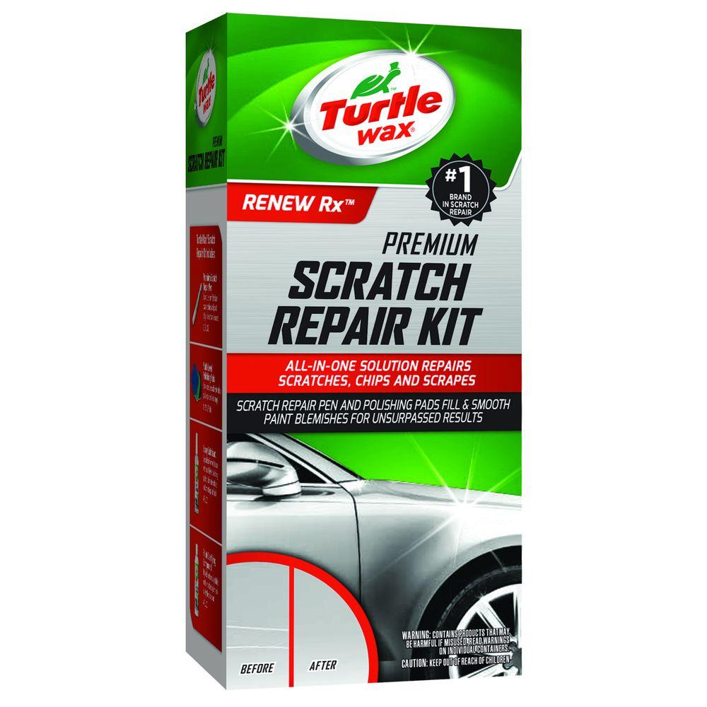 Turtle Wax 13 12 Oz Scratch Repair Kit T234kt The Home