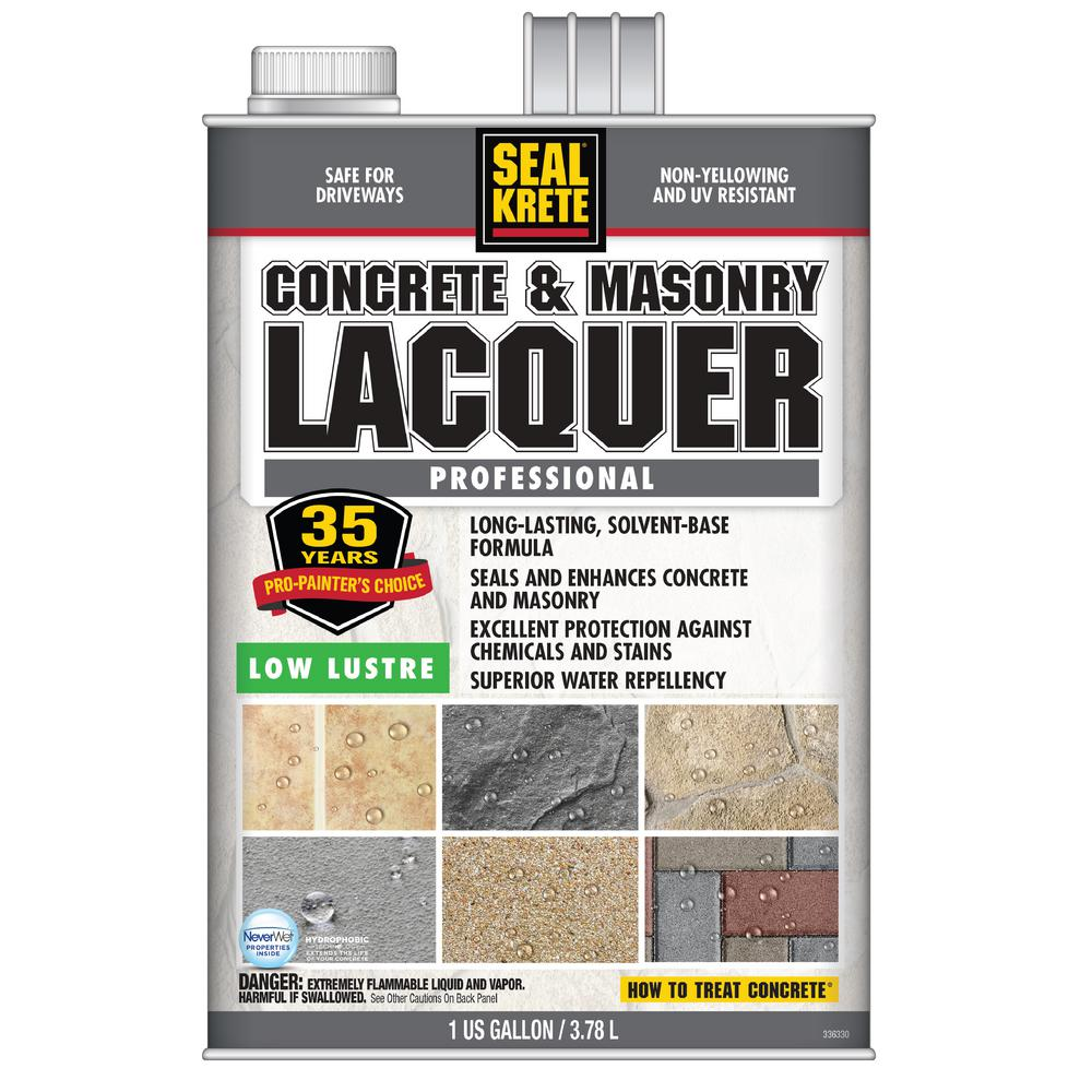 Seal-Krete 1 gal. Low Lustre Lacquer (2-Pack)