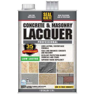 1 gal. Low Lustre Lacquer (2-Pack)