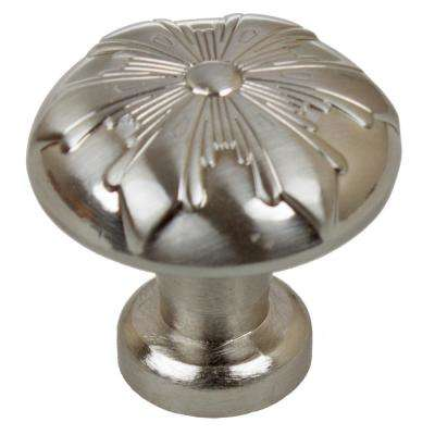 1-1/8 in. Dia Round Snowflake Cabinet Knobs (10-Pack)