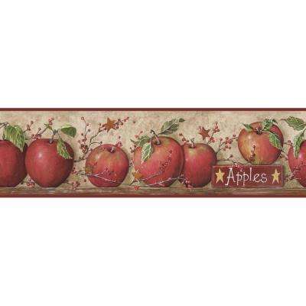 Apple Wallpaper Border