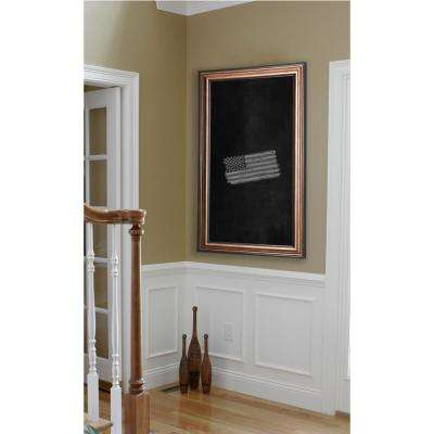 54 in. x 30 in. Canyon Bronze Blackboard/Chalkboard